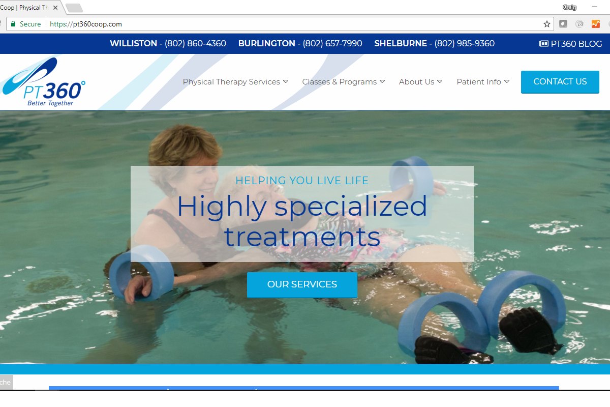 New Health Services Website Launch: PT360