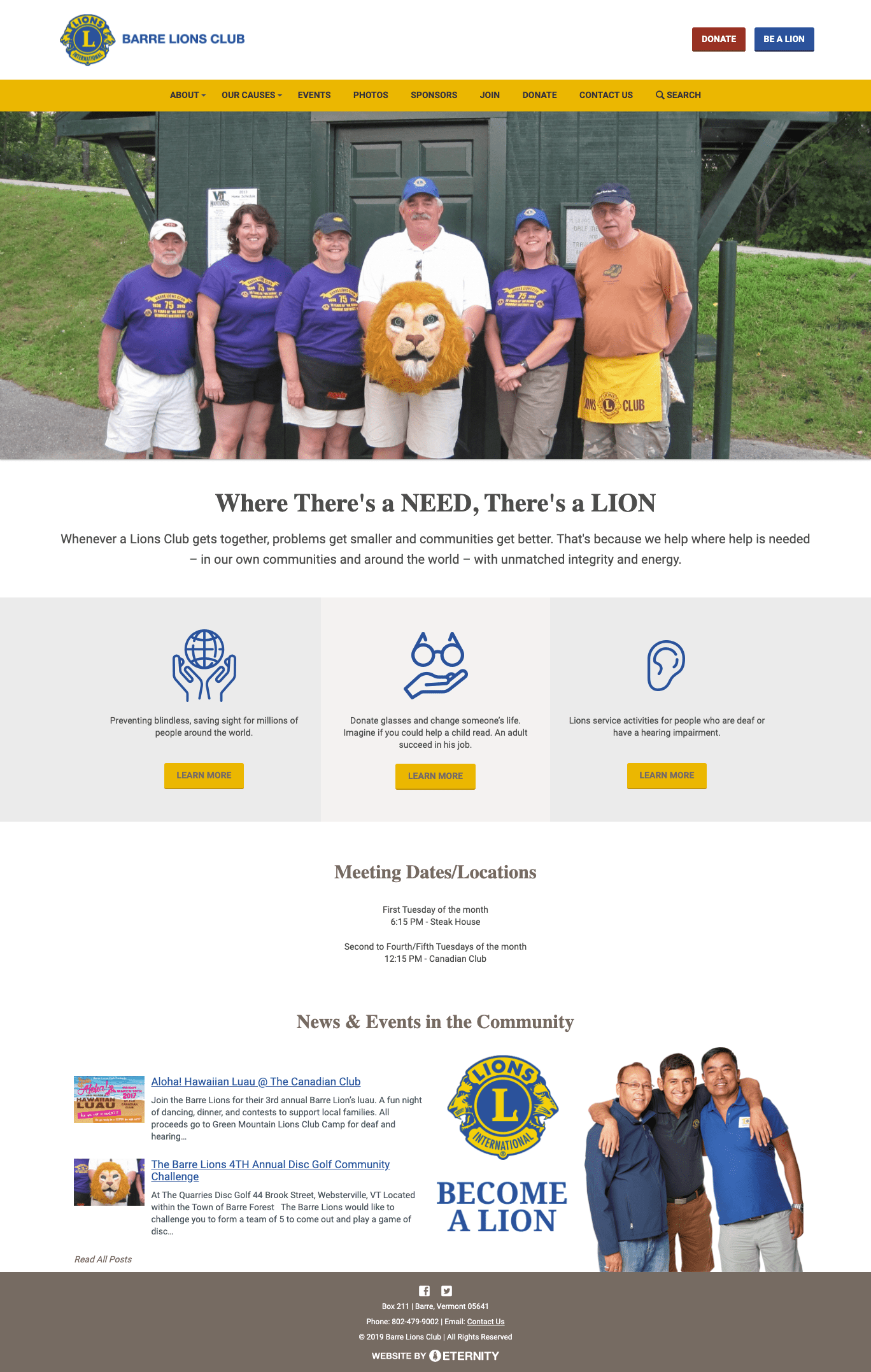 Barre Lions Club