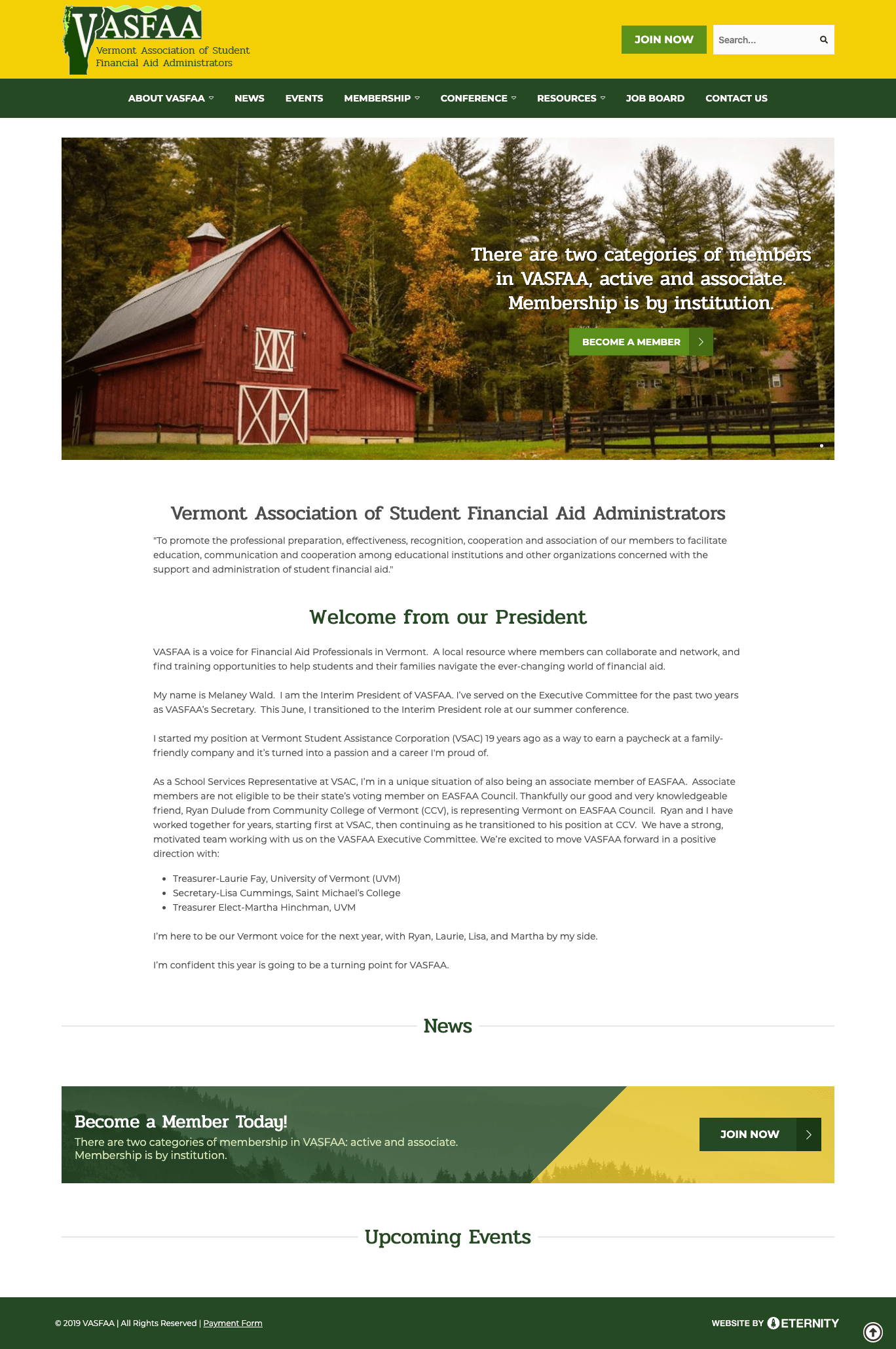 Vermont Association of Student Financial Aid Administrators